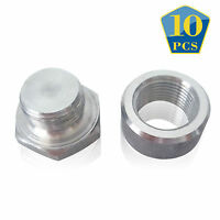 Innovate Motorsports Steel Weld-on Straight Oxygen Sensor Bung Kit 3735 10 Sets