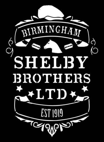 high detail airbrush stencil shelby brothers FREE POSTAGE