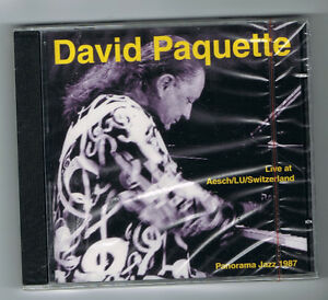 DAVID-PAQUETTE-LIVE-AT-AESCH-LU-SWITZERLAND-CD-14-TITRES-1987-NEUF-NEW