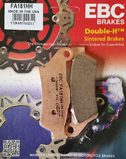 EBC/FA181HH Brake Pads (Rear) - KTM 1050/1190 Adventure, Moto Guzzi 1200 Stelvio