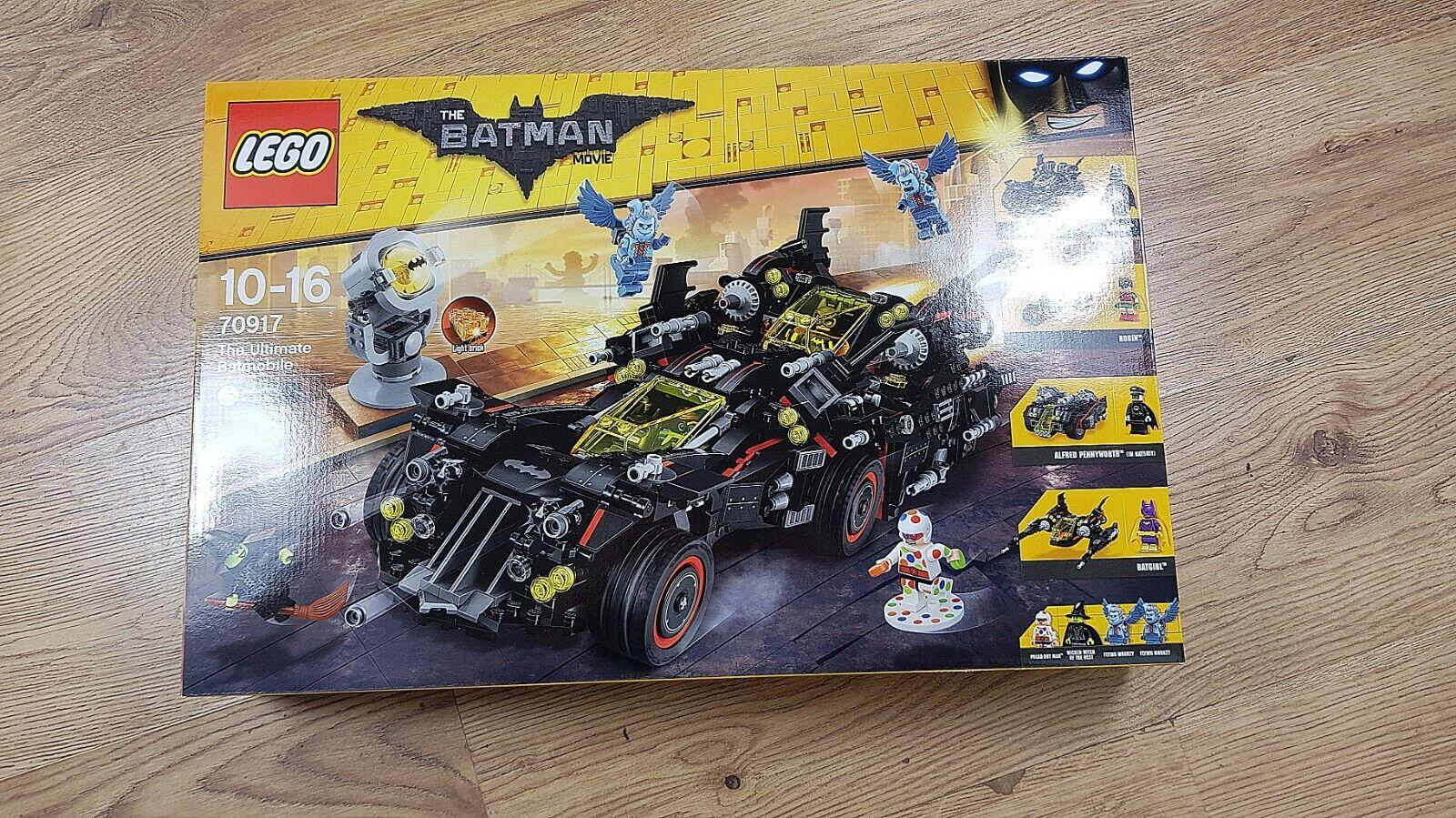 LEGO BATuomo MOVIE 70917 Ultimate BATMOBILE (2017)    nuovi, non aperto, perfetto   prezzo più economico