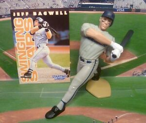 1996  JEFF BAGWELL - Starting Lineup - SLU - Figure & Card - HOUSTON ASTROS