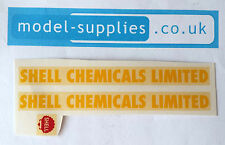Dinky 991 AEC Tanker Shell Chemicals Ltd Reproduction Waterslide Transfer Set