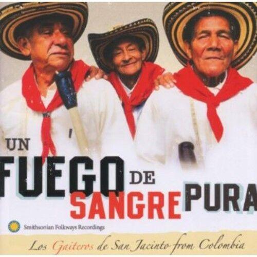 1 of 1 - Los Gaiteros de San - Un Fuego de Sangre Pura [New CD]