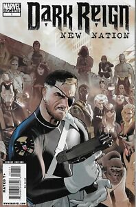 Dark-Reign-New-Nation-1-Marvel-Comics-2009-Bagged-and-Boarded