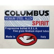 Columbus Spirt Frame Tube Decal