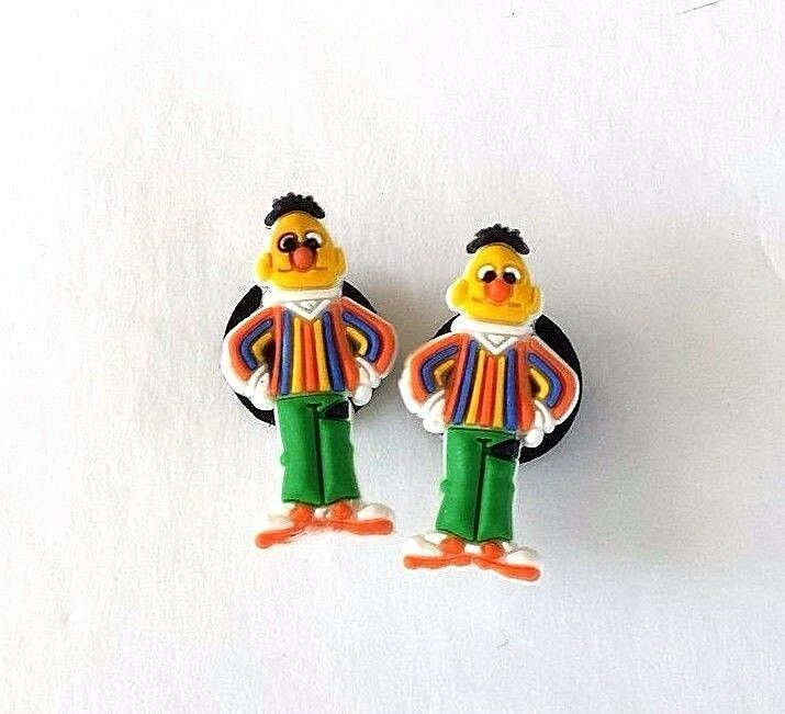 Sesame Street croc shoe charms (2) Bert