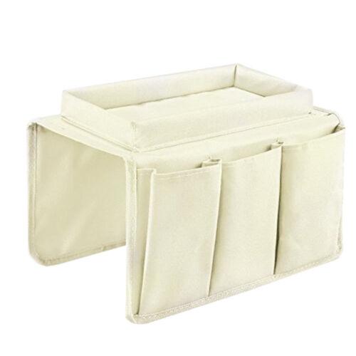 1x Organizer Pouch Bag Lagerung Portable Fernbedienung Sofa Aufbewahrungsbeutel