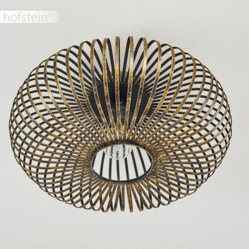 Flur Dielen Leuchten Schwarz//Gold Decken Lampen Wohn Schlaf Zimmer Beleuchtung
