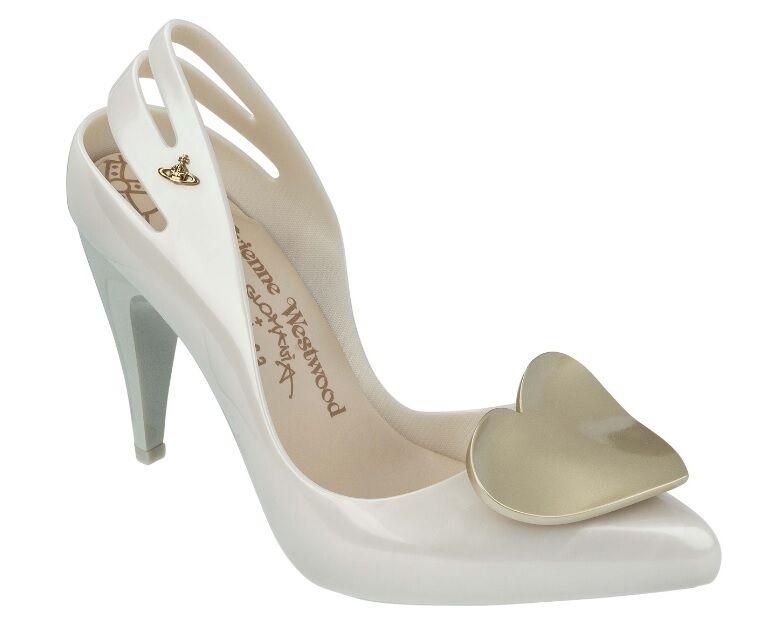 vieni a scegliere il tuo stile sportivo Vivienne Westwood Anglomania Melissa Classic Heel Heart Wedding Wedding Wedding scarpe US 8 10  nelle promozioni dello stadio