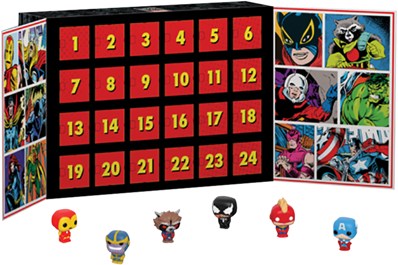 Marvel Advent Calendar with 24 Pocket Pops nuovo in Sealed scatola