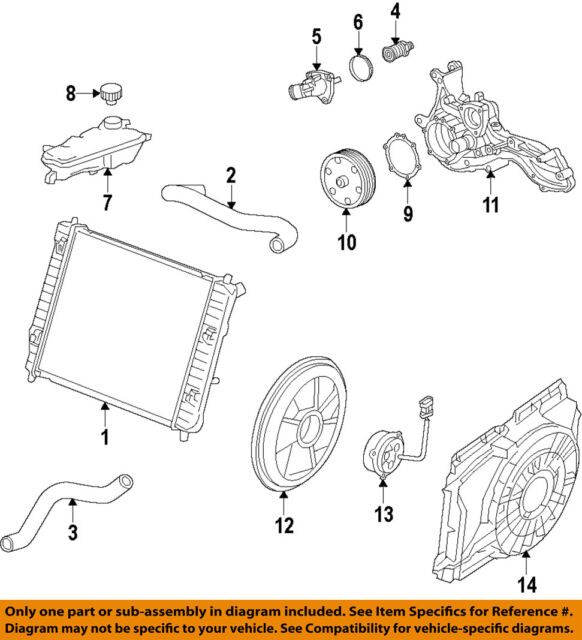 GM OEM Cooling System-Water Outlet 12674634