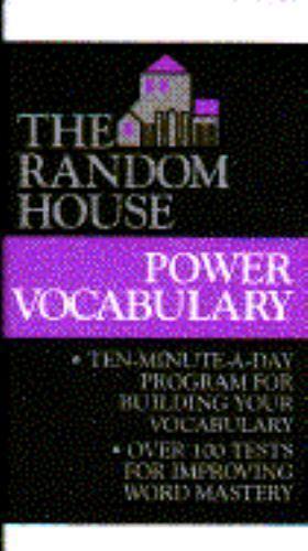 Random House Power Vocabulary by Laurie E. Rozakis