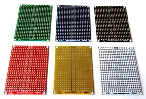 RkEducation-5x7cm-PCB-Copper-Matrix-Prototyping-Stripboard-Breadboard-UK-Seller