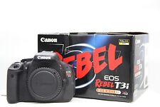 MINT Canon EOS Rebel T3i / 600D 18.0 MP SLR Body With Accessories. Freeshipping