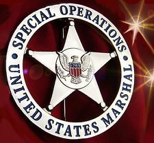 United States US MARSHAL BADGE, USMS SPECIAL OPERATIONS BADGE,Obsolete Collector