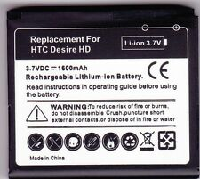 Replacement Battery for HTC Desire HD and HTC Inspire 4G. NEW