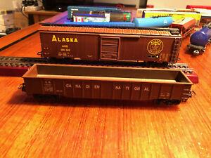 MARKLIN-4860-034-Alaska-Railroad-amp-Canadian-National-034-Car-Set-RARE-Marklin