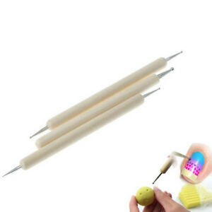 3-set-Ball-Stylus-Polymer-Clay-Pottery-Ceramics-Sculpting-Modeling-Paint-034-Tool-K