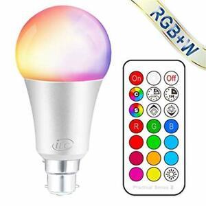 ILC-Couleur-Changeante-Ampoule-Dimmable-10-W-B22-Baionnette-RGBW-DEL-AMPOULES-1