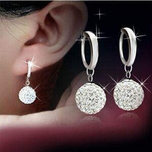 Fashion-Women-18K-White-Gold-Filled-Crystal-Rhinestone-Hoop-Earrings-Jewelry-Hot
