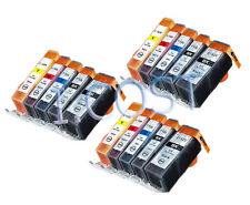 15 Ink Canon Pixma IP4850 IP4950 MG5150 MG5250 MG5350 MG8150 MX885 PGI525 CLI526