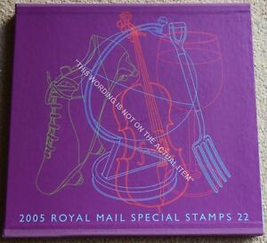 Royal-Mail-Special-Stamps-Year-Book-22-for-2005-Complete-with-all-Stamps