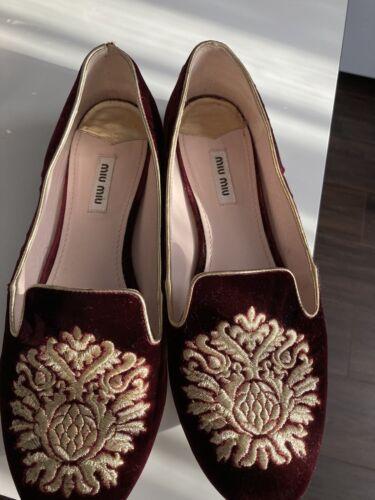 100% Authentic Miu Miu Shoes