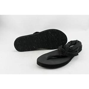 56bf1f740cd Skechers Meditation Women US 9 Black Thong Sandal Pre Owned 1783