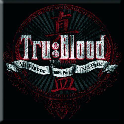 True Blood - All Flavour/no Bite Magnet ROCK OFF