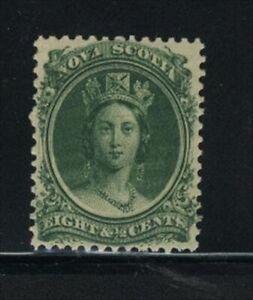 """NOVA SCOTIA, UNITRADE MNH # 11  """"QUEEN VICTORIA, 1860"""" VALUE $ 22.50"""
