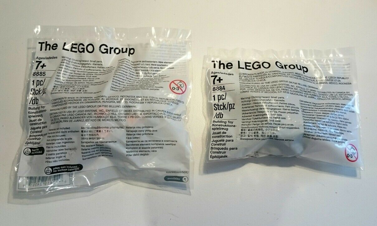LEGO Technic Power Functions IR Receiver (8884) and IR Remote Control (8885) NEW