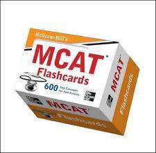 McGraw-Hill's MCAT Flashcards (Test Prep), Hademenos, George J., New Book