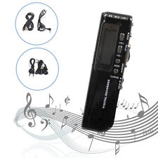 Digital Audio Sound Voice Recorder Dictaphone MP3 Player Stenography 8GB USB