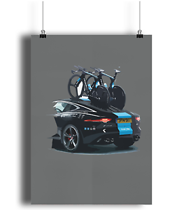 Team-Sky-Jaguar-and-Pinarello-Bolide-bicycle-prints-cycling