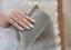 Silver-Diamante-Crystal-Satin-Bridal-Wedding-Prom-Purse-Clutch-Handbag-Bag