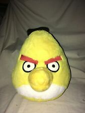 "Plush Angry Birds yellow Bird Stuffed Animal  9"" Commonwealth Novelty Cartoon 4+"