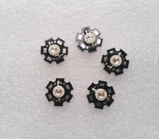 5pcs 5w Deep Red High Power 660665nm Plant Grow Led Emitter With 20mm Star Base