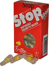 80 Packs Super Stop Cigarette Filter- Remove Tar &  Nicotine - Smoking Cessation