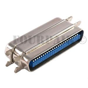 image is loading 50-pin-25-pair-rj21-telco-amphenol-gender-