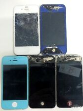 Lot of 5 Broken / For Parts Apple iPhone 4 MUST READ DESCRIPTION Not Tested