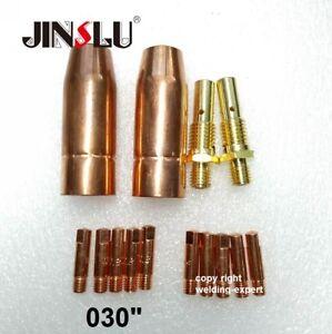 MIG Welding Gun Kit  Fits Lincoln 100L Tweco Mini//#1 Tip-Diffuer-Nozzle-Liner