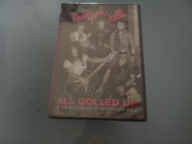 NEW YORK DOLLS: ALL DOLLED UP DVD *NEW AND SEALED*