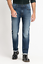 "Homme Lee Austin Regular Fit Tapered Jeans /""Dark Diamond/"" usine Secondes L53"