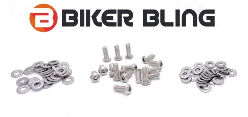 BMW K1200R Sport 2007 stainless steel motorcycle screen panel fairing bolts