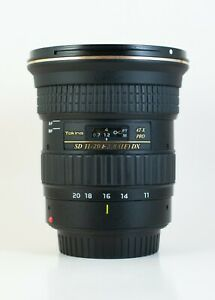 Tokina AT-X 11-20mm 2.8 Pro DX Lens / Canon EF Mount