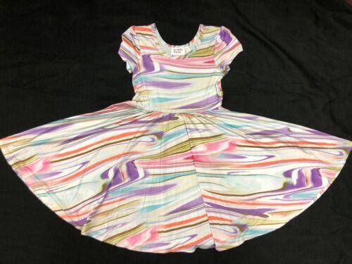 NWT Dot Dot Smile CUP Short SLEEVE Twirly Dress Summer Knit Girl Kids