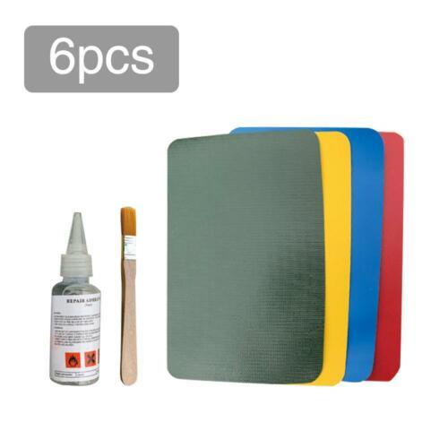 5PCS  PVC Patch Repair Kit Leather Repair Patches Glue Set Accessory for