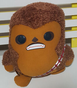 STAR-WARS-CHEWBACCA-CHARACTER-TOY-PLUSH-TOY-SOFT-TOY-ABOUT-28CM-TALL-KIDS-TOY