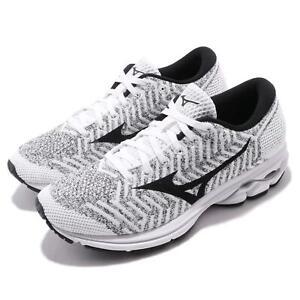Mizuno-Waveknit-R2-White-Black-Women-Running-Training-Shoes-Sneakers-J1GD1829-10